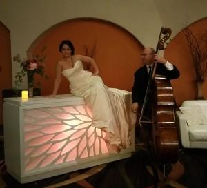 Jazzy castle bride