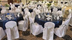 Castle events center tables