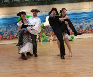 pirate crew dance