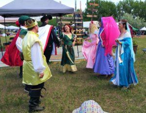 Cartoon Princess Colorado medieval dance