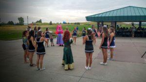 Dancing Princesses teaching dance