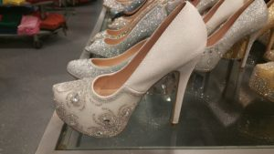 Tall wedding shoe