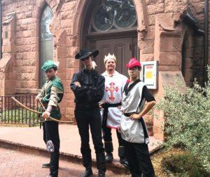 Robin hood and merry men Evans chapel