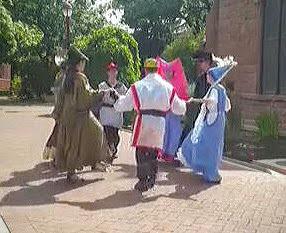 Merry men disney dance