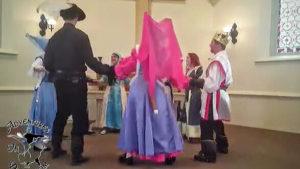 Robin Hood dance with Merry men