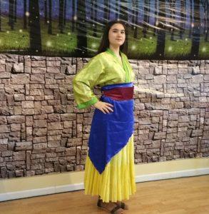 Mulan dance