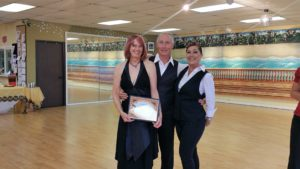 Larry and Sheryl dance award