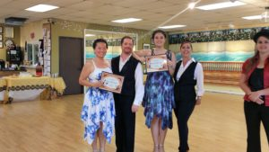 Sabrina and Shayao dance award