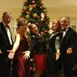 Ballroom dancers out for New year