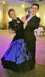 Victorian Ballroom Dancers