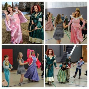 historically accurate princess dances