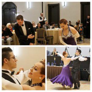 Robyn Bill Craig Ballroom dancers