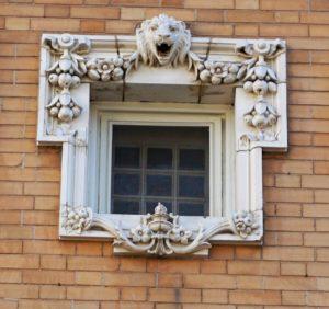 Grant-Humphrey's Mansion loin window