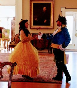 beauty Belle and Beast dance