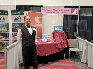 Rocky Mountain Bridal Show Dance Booth