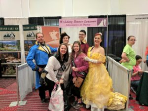 Dancers and Brides at the Rocky Mountain Bridal Show