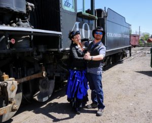 Steampunk Dance at Colorado Railroad Museum