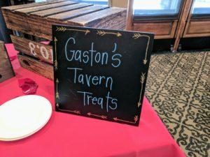Gaston's tavern treats