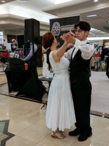 Dancing by DJ