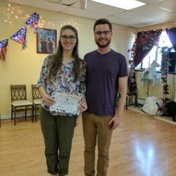 Josh Belt and Kayla Jenulis