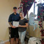 Brandon Kovach and Christa Wedding