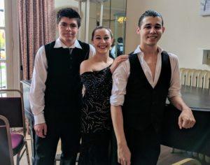 Noah Robyn William Ballroom Competiton