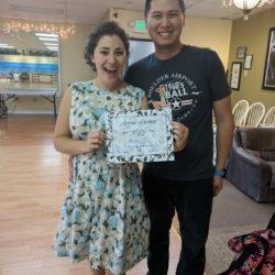 Aaron Wong and Danielle Wedding