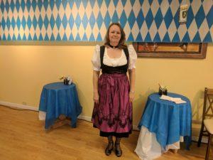 Oktoberfest dancer
