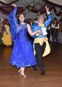 Sabrina and Beast Ball dance