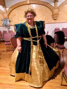 victorian curtain dress