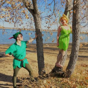 Tinkerbell and Pan