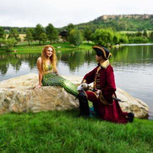 on stranger tides Mermaid pirate wedding 2 web
