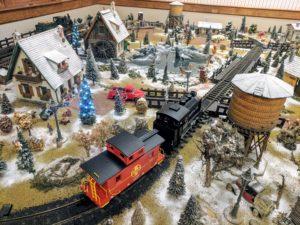 christmas train pinehurst