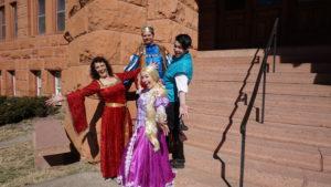 Mother Gothel, King Frederic, Flynn Ryder, Rapunzel