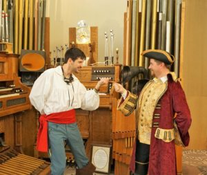 Steampunk Eric and Hook duel