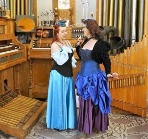 Steampunk Ursula takes Ariel's voice