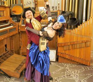 steampunk hook and ursula dance
