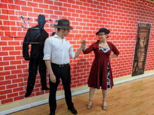 1930's swing dancers