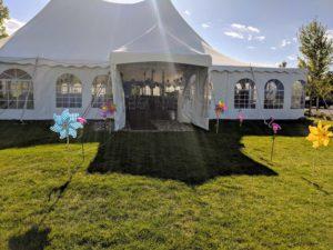 Pinery tent to wonderland