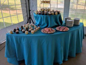 Wonderland Dessert table