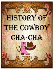 history of Cowboy Cha-cha