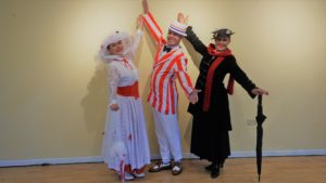 Mary Poppins jolly Holiday dancers