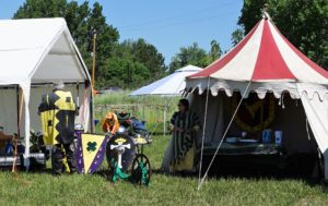 medieval knights tent