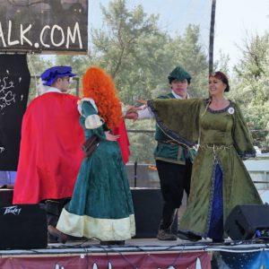 elinor merida prince phillip robin hood medieval dance