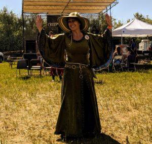 Medieval dance queen Elinor