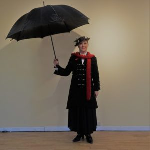 holly as Mary Poppins