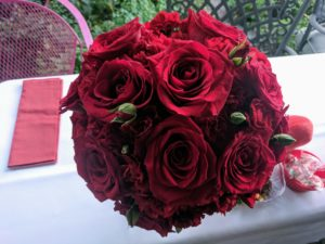 Garden wedding maid of honor boquet