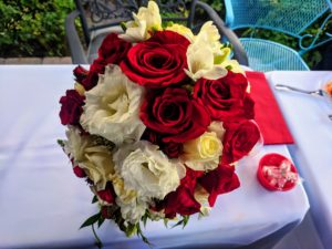 garden wedding boquet