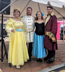 western welcome week dancers-Anastaisia-Czar-Ariel-prince-Eric