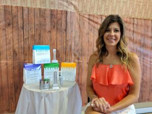 andrea with Rodan fields skincare